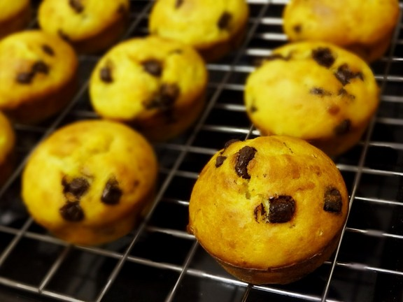 Orange Chocolate Chips Muffins recipe