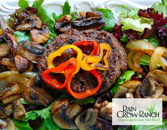 Paleo Grass Fed Hamburger Salad recipe