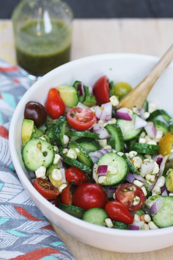 Raw Summer Salad recipe