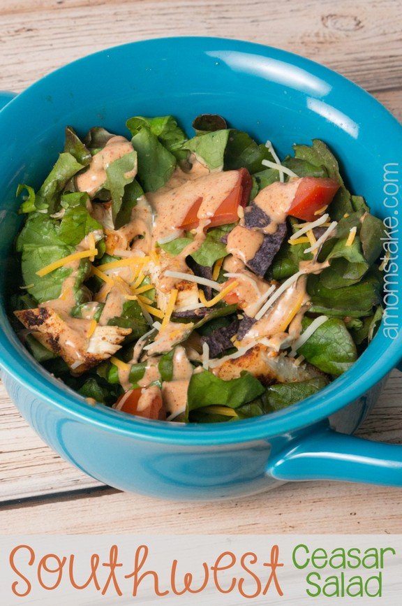 Southwest Chicken Ceasar Salad recipe