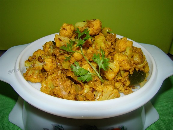 Soya Cauliflower recipe