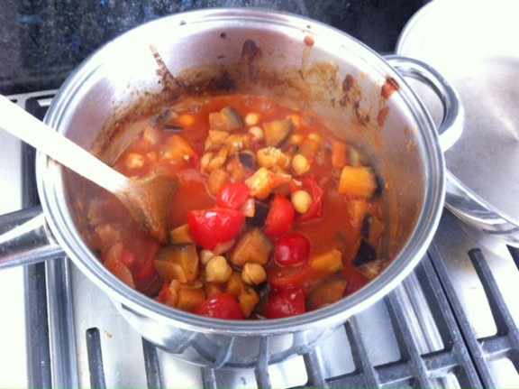 Tomato & Chickpea Stew recipe