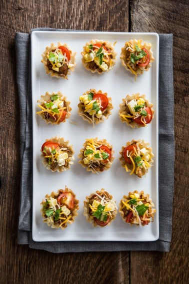 Crock Pot Chicken Taco Bites recipe
