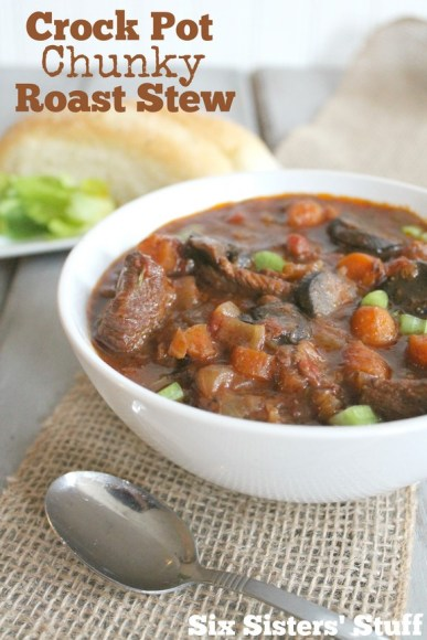 Crock Pot Chunky Roast Stew recipe