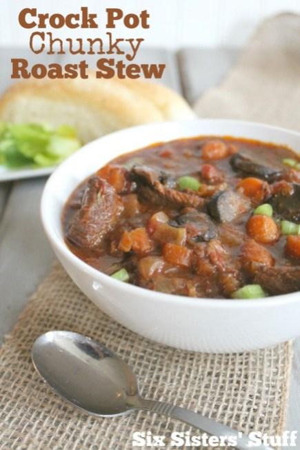 Crock Pot Chunky Roast Stew recipe