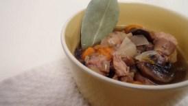 Crock-Pot Mushroom & Beef Stew recipe