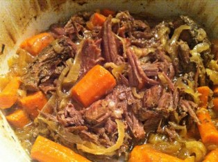 Crock Pot Pot Roast recipe