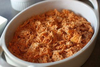 Crock Pot Shredded Buffalo Chicken recipe