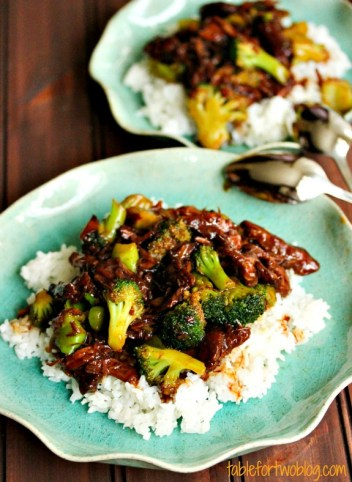 Crockpot Beef & Broccoli recipe