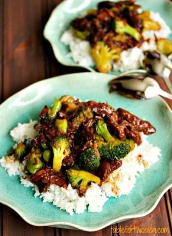 Crockpot Beef & Broccoli recipe