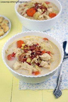 Crockpot Chicken Chowder recipe