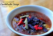Crockpot Enchilada Soup recipe