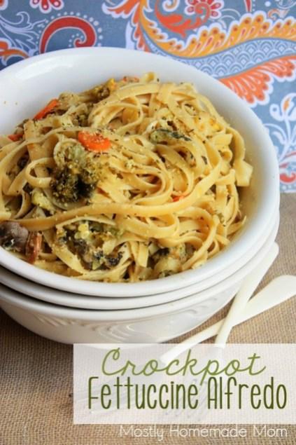 Crockpot Fettuccine Alfredo recipe