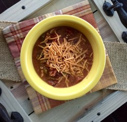 Gluten Free Beer Chicken Crockpot Chili recipe