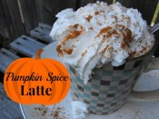 Gluten Free, Crock Pot Pumpkin Spice Latte recipe