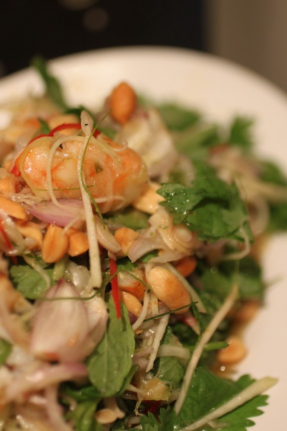 Green Mango & Grilled Prawn Salad