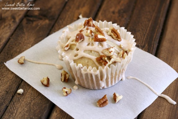 Maple Pecan Muffins by Sweet Bella Roos