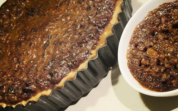 Most Amazing Ever-Butter Pecan Pie by Emmalee Design