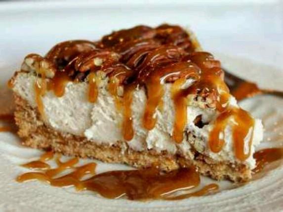 Pecan Pie Caramel Cheesecake by Lauren's Latest