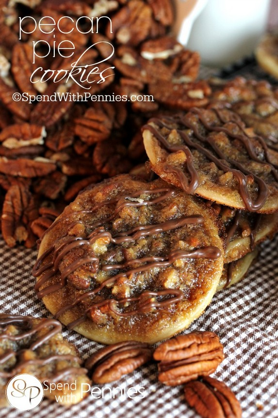 Pecan Pie Cookies by Spend With Pennies