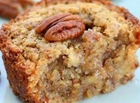 Pecan Pie Muffins by Just A Pinch
