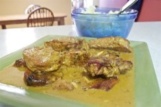 Pork Chops with Dijon Cream Sauce recipe