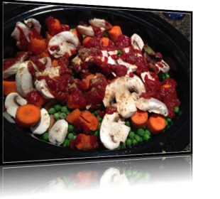 Protein Powered Crockpot Stew recipe