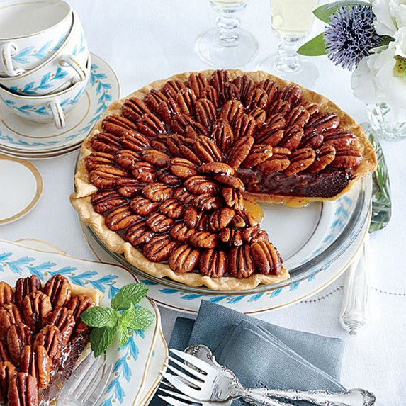 Salted Caramel-Chocolate Pecan Pie by My Recipes