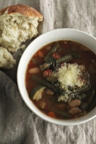 Super Easy Crock Pot Minestrone Soup recipe