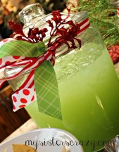 Christmas Eve Punch from My Sister's Crazy