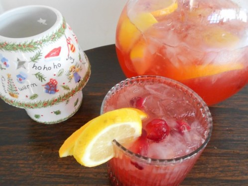 Cranberry Christmas Punch from Bette Lee Crosby