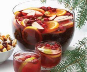 Cranberry Christmas Punch from Food and Beverage