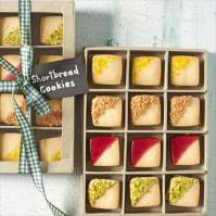 Glazed Shortbread Cookies by Country Living