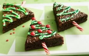 Holiday Tree Brownies by Betty Crocker