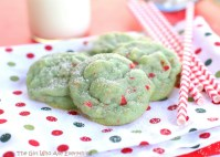 Pistachio Cherry Meltaway Cookies by I Heart Naptime