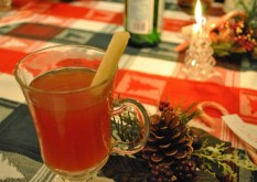 Ponche Navideño (Christmas Punch) from Culinary Adventures