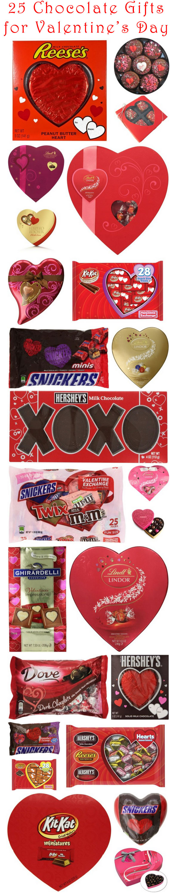 25 Chocolate Gifts to Give Your Sweetheart This Valentine's Day