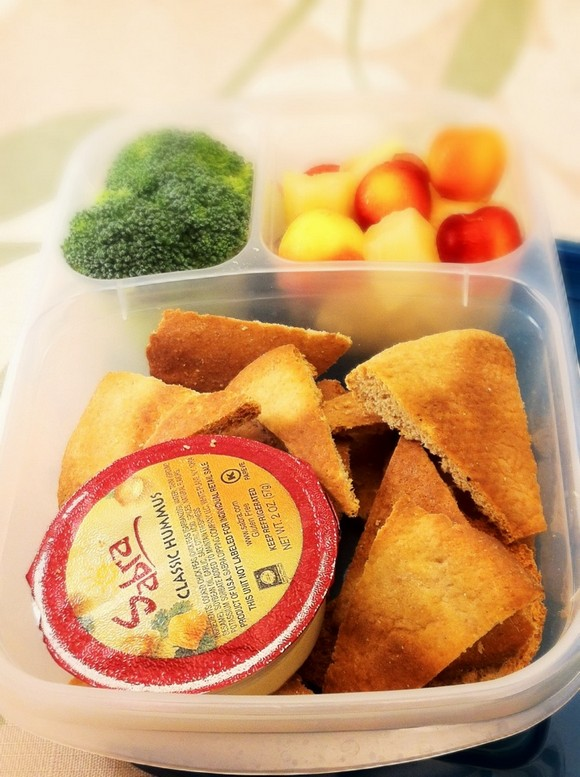 Lunch Box Baked Pita Chips