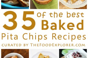 35 of the Best Baked Pita Chips Recipes on the Internet