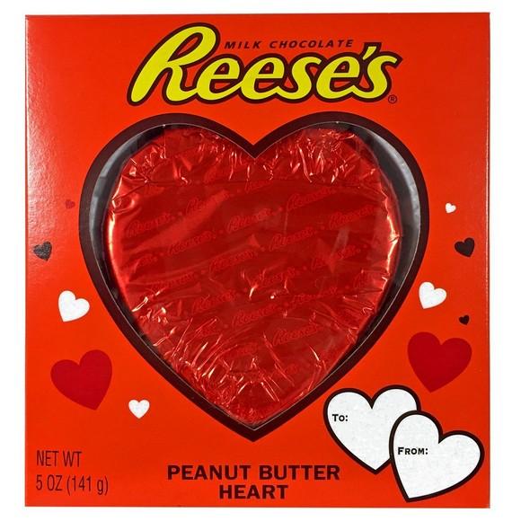 Reese's Peanut Butter Heart 5 Oz