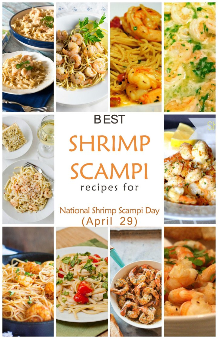 Best Shrimp Scampi Recipes for National Shrimp Scampi Day (April 29)