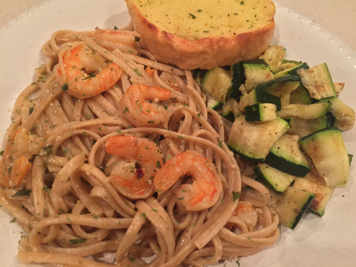 Quick and Simple Shrimp Scampi recipe