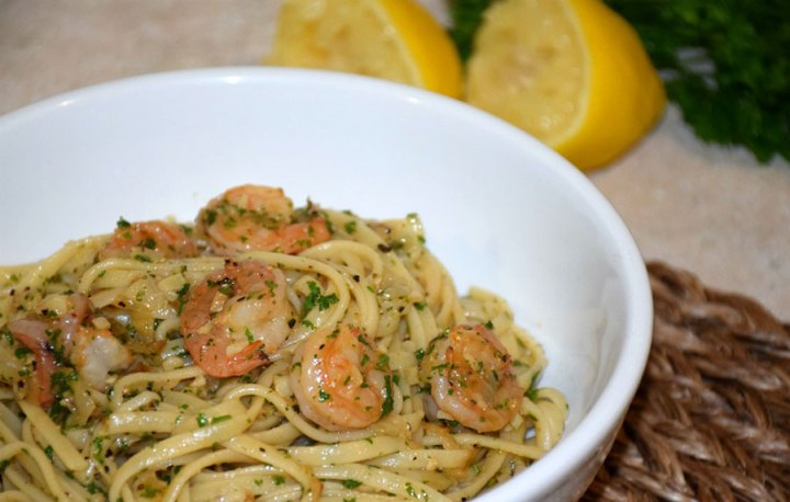 Shrimp Scampi with Linguine recipe