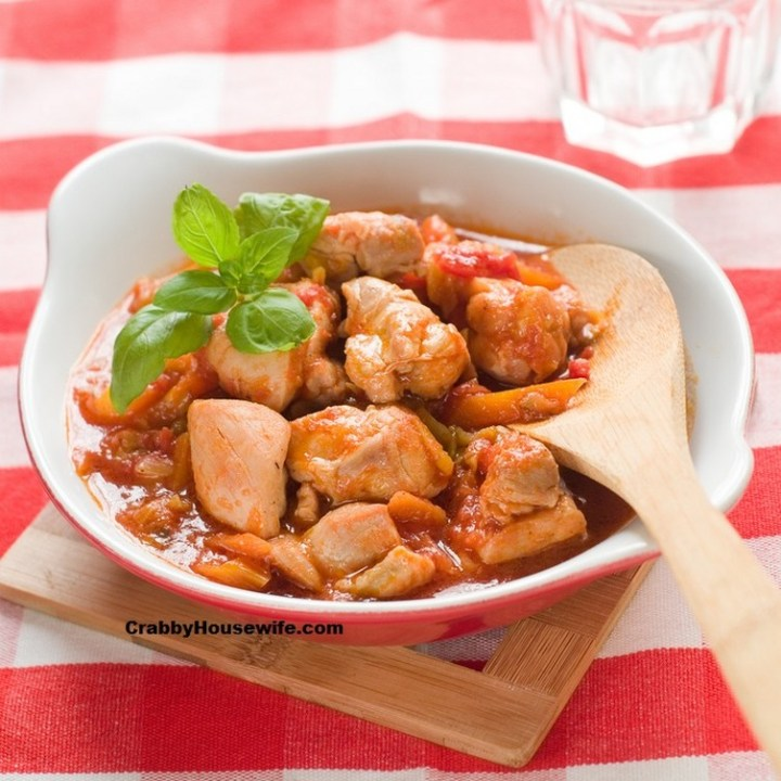 Crock Pot Chicken Breasts for Stew