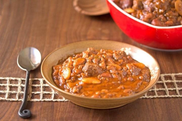 Slow-Cooker Three Bean Casserole