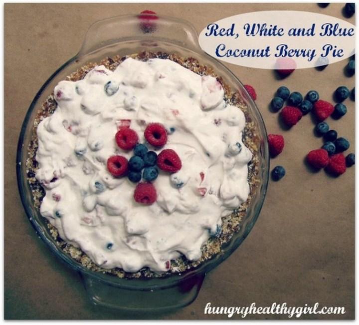 Coconut Berry Pie