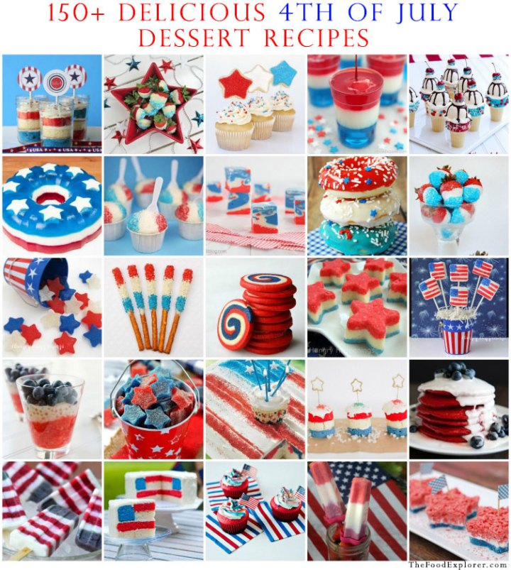 150+ Delicious 4th of July Dessert Recipes
