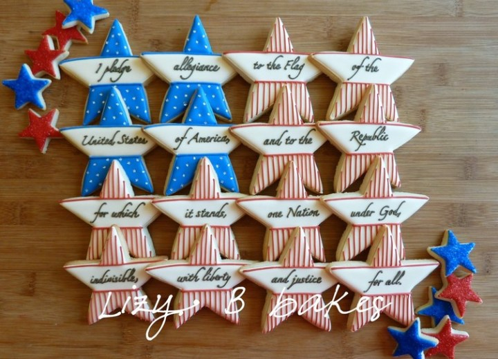 Star Cookies for July 4th