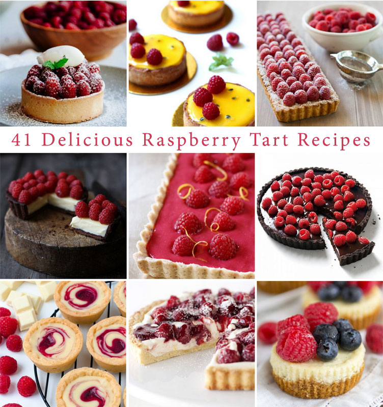 Happy National Raspberry Tart Day! Try one of these 41 delicious recipes today!