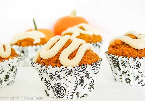 Whole Grain Pumpkin Muffins